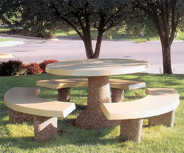 Concrete Park Tables