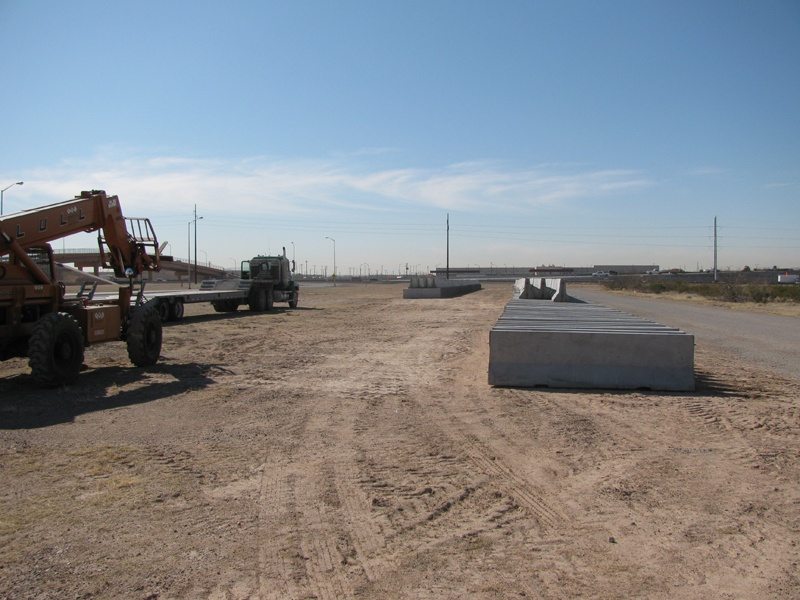 Jersey Barriers Help Secure Base Personnel Amp Expansion Sites