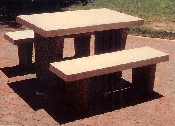 Concrete Picnic Tables, Park Tables & Benches Are Durable, Stylish