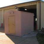 Custom Storm Shelter For Sheppard Air Force Base